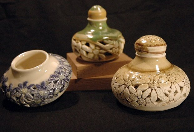 Carved Doublewalled bottles