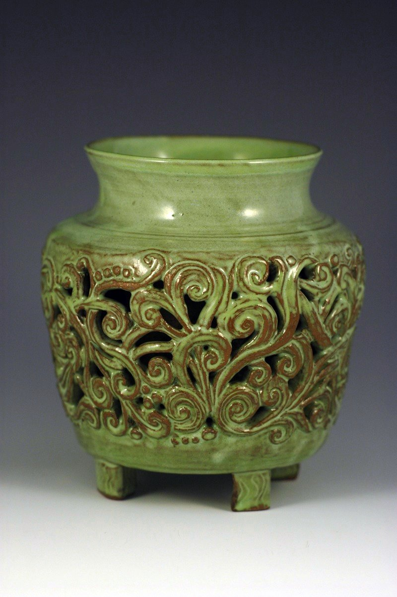 Carved Jar