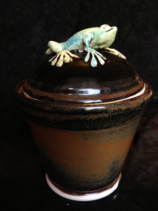 Lizard Wish Pot