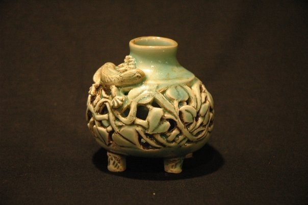 dblwalled lizard pot